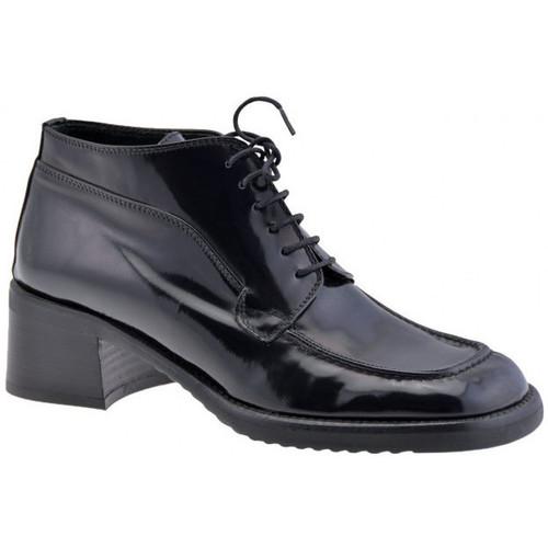 Chaussures Femme Richelieu Dockmasters 40talonCasualRichelieu Noir