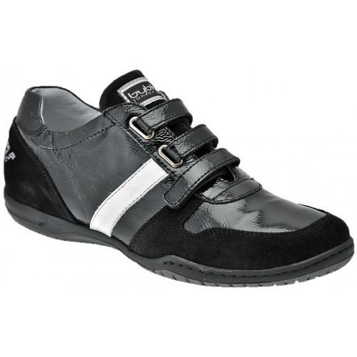 Chaussures Femme Baskets montantes Byblos Blu CasualSneakersvelcroSneakers Noir