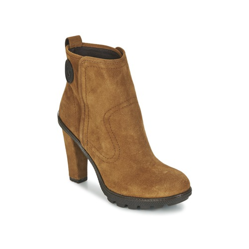 Chaussures Femme Bottines Pataugas FANNY/F Marron