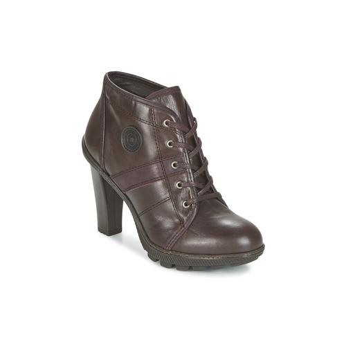 Chaussures Femme Bottines Pataugas FURBY/N Chocolat