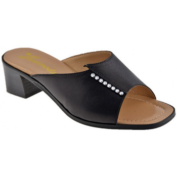 Chaussures Femme Mules Susimoda Fascia Strass Mules Noir