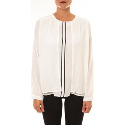 Vêtements Femme Tops / Blouses Carla Conti Blouse H12 écru Beige