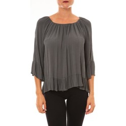 Tops / Blouses Carla Conti Blouse Giulia anthracite