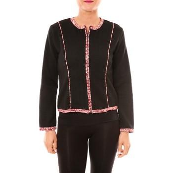 Vêtements Femme Vestes / Blazers Bamboo's Fashion Veste BW667 noir Noir