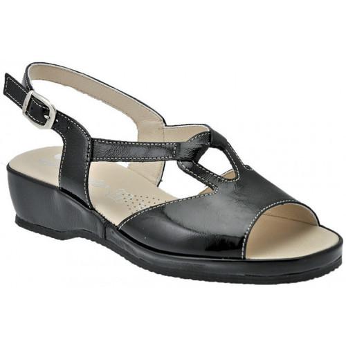 Chaussures Femme Sandales et Nu-pieds Susimoda Anatomique Sandales Noir