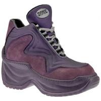 Chaussures Femme Baskets montantes Zone 14512 Plate-forme Slim Talon compensé violet