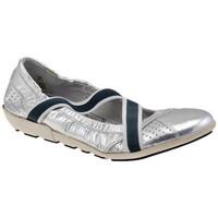Chaussures Femme Ballerines / babies OXS Agnen Ballerines Argenté