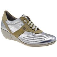 Chaussures Femme Baskets montantes OXS Agnen Talon compensé