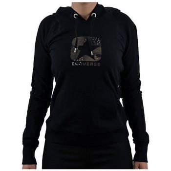Vêtements Femme Sweats Converse LogoBorchiatoSweat Noir