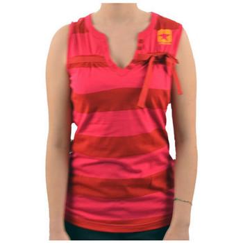 Vêtements Femme Débardeurs / T-shirts sans manche Converse SmanicataFioccoT-shirt Rose