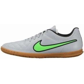 Chaussures Homme Football Nike Tiempo Rio II IC Noir-Vert