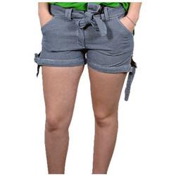 Vêtements Femme Shorts / Bermudas Converse ShortLacciShorts Bleu