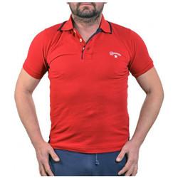 Vêtements Homme Polos manches courtes Converse PiquetPolo Rouge