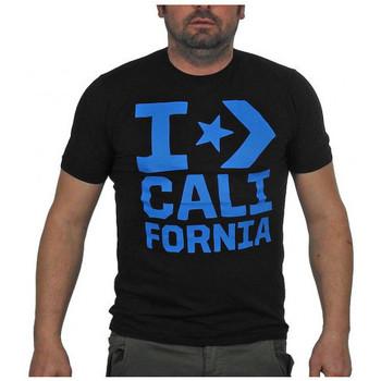 Vêtements Homme T-shirts manches courtes Converse CaliforniaT-shirt Noir