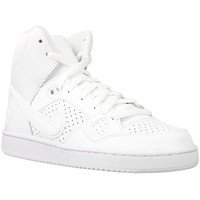 Chaussures Enfant Baskets montantes Nike Son OF Force Mid GS Blanc
