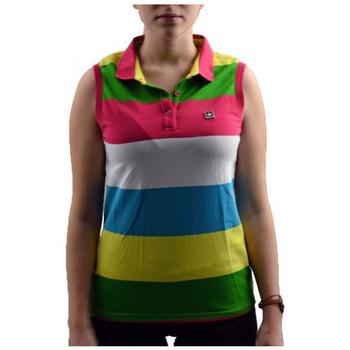 Vêtements Femme Polos manches courtes Converse SmanicataPolo Multicolore