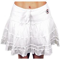 Vêtements Femme Shorts / Bermudas Converse MinigonnaShorts Blanc