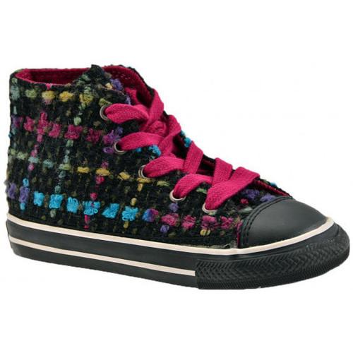 Chaussures Enfant Baskets montantes Converse CT Spec Plaid Baskets montantes Noir