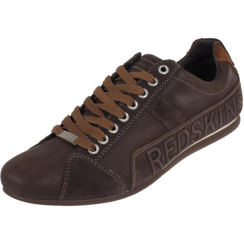 Chaussures Homme Baskets basses Redskins Cuesto choc/cognac nubuck Marron
