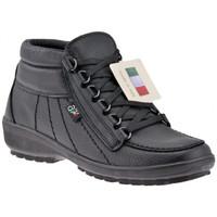 Chaussures Homme Randonnée Alisport 115 Comfort Casual montantes Noir