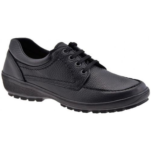 Chaussures Femme Mocassins Alisport ConfortCasualSneakers Noir