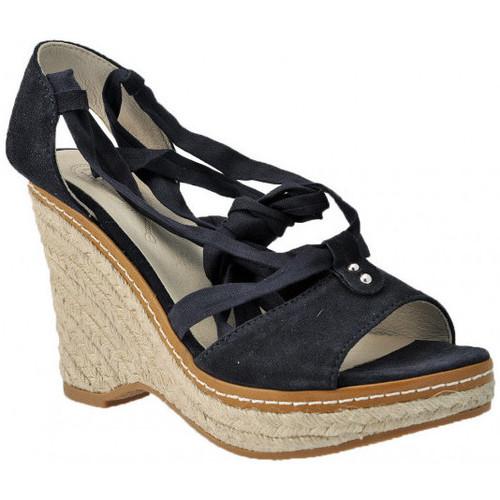Chaussures Femme Sandales et Nu-pieds Keys Wedge 100 Sandales bleu