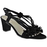 Chaussures Femme Sandales et Nu-pieds Keys Talon50Sandales Noir