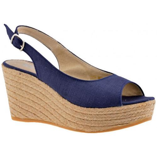 Chaussures Femme Sandales et Nu-pieds Keys 90CampesinaSandales Bleu