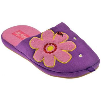 Chaussures Femme Chaussons De Fonseca Umana Pantoufles Violet