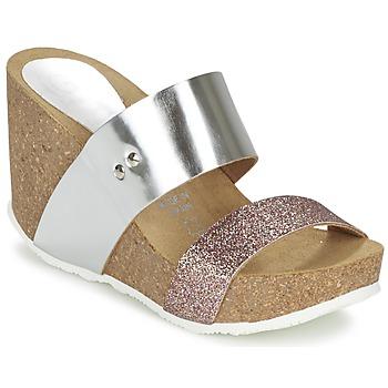Chaussures Femme Mules Ganadora FLORA Argent