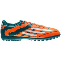 Chaussures Homme Football adidas Originals F5 IN Messi Orange-Vert clair