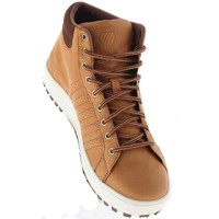 Chaussures Homme Baskets montantes K-Swiss Adcourt 72 Boot Marron-Blanc