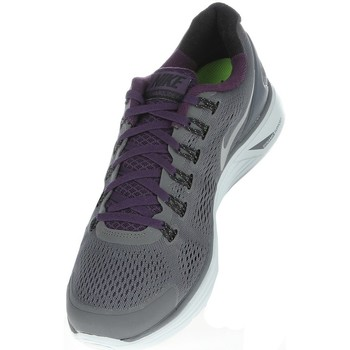 Chaussures Homme Running / trail Nike LUNARGLIDE4 SS13 Violet-Gris