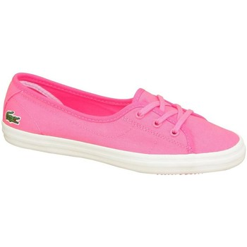 Chaussures Femme Ballerines / babies Lacoste Ziane Chunky Abb Rose