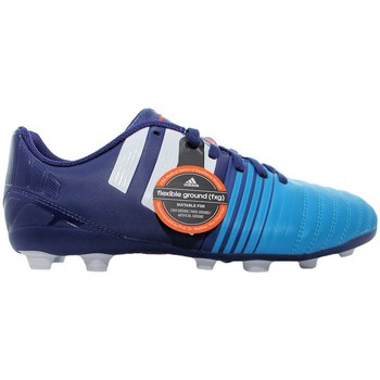 Chaussures Enfant Football adidas Originals Nitrocharge 40 Fxg Bleu marine-Bleu