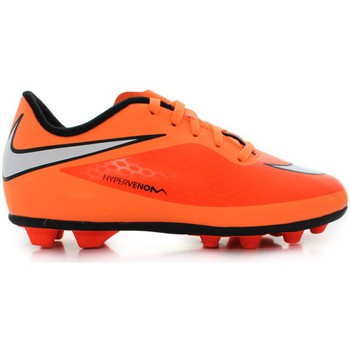 Chaussures Enfant Football Nike JR Hypervenom Phade Fgr Orange