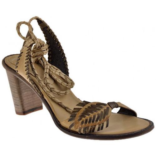 Chaussures Femme Sandales et Nu-pieds Progetto 4176Talon80Sandales Beige