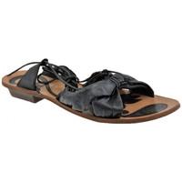 Chaussures Femme Sandales et Nu-pieds Progetto A200esclaveSandales Noir