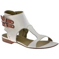 Chaussures Femme Sandales et Nu-pieds Progetto M097esclaveSandales blanc