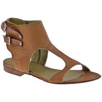 Chaussures Femme Sandales et Nu-pieds Progetto M097esclaveSandales Marron