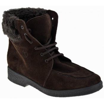 Chaussures Femme Boots Valleverde Lacet Doublure laine Casual montantes