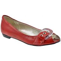 Chaussures Femme Ballerines / babies Lea Foscati Spuntata Ballerines Rouge
