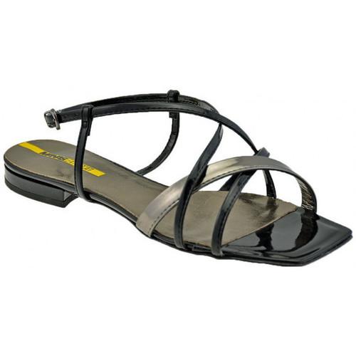 Chaussures Femme Sandales et Nu-pieds Lea Foscati BracelettresséSandales Noir
