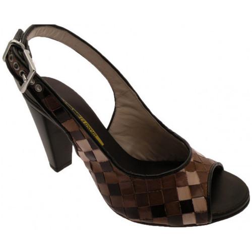 Chaussures Femme Escarpins Lea Foscati Pompe Talon 90 Talons-Hauts Multicolor