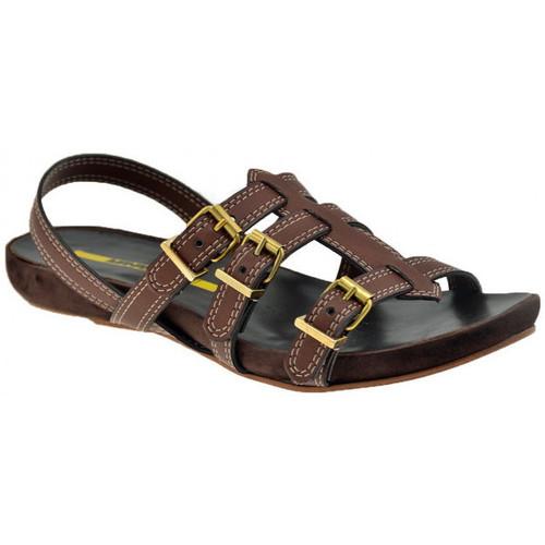Chaussures Femme Sandales et Nu-pieds Lea Foscati 3 Straps Sandales