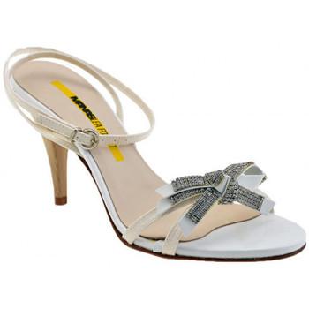 Chaussures Femme Sandales et Nu-pieds Lea Foscati T.80 Bow esclave Sandales blanc