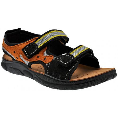 Chaussures Garçon Sandales et Nu-pieds Inblu Strappo Boy Sandales Noir
