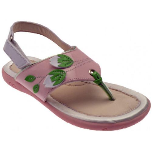 Chaussures Fille Tongs Inblu Flip-flops 24/29 Tongs rose