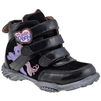 Chaussures Enfant Baskets montantes Dessins Animés Little Pony Mid Baskets montantes Noir