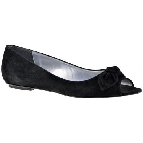 Chaussures Femme Ballerines / babies Charlize Italia Gun Bow Ballerines Noir